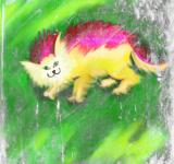 Free Photo - Cat Painting
