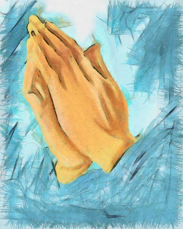 Free Stock Photo of Praying Hands Created by Prawny