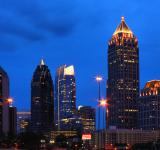 Free Photo - Atlanta Skyline At Night