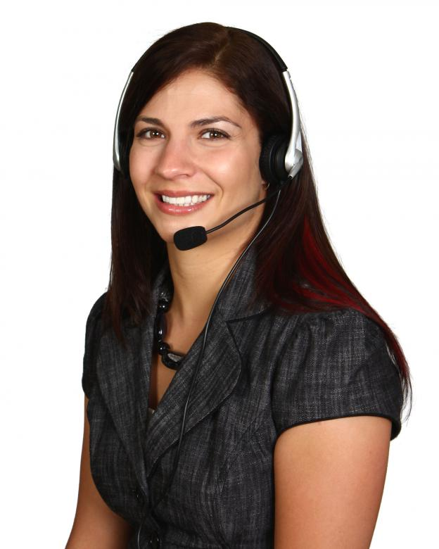 Free Stock Photo of A Beautiful Call Center Woman Isolated Created by Benjamin Miller