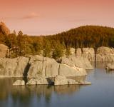 Free Photo - Rocky Mountain Lake at Sunset
