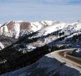 Free Photo - Snowy Mountain Pass