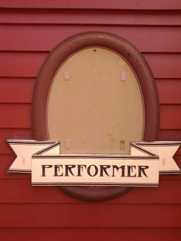 Performer Sign - Free Stock Photo