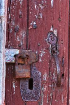 Latch and lock - Free Stock Photo