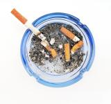 Free Photo - Cigarettes in ashtray