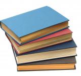 Free Photo - A stack of books isolated on a white