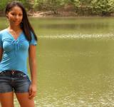 Free Photo - A beautiful African American teen girl