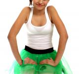 Free Photo - Girl dressed for Saint Patrick