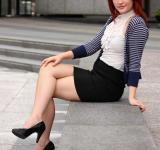 Free Photo - A beautiful young business woman