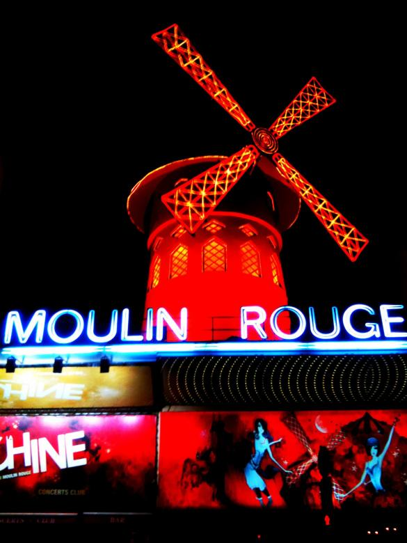 Free Stock Photo of Moulin Rouge Created by Nestor Romero