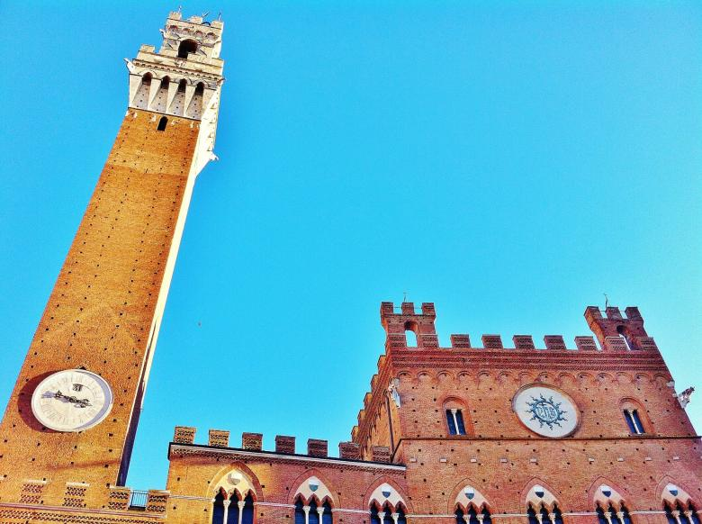 Free Stock Photo of La Torre del Mangia Created by Nestor Romero