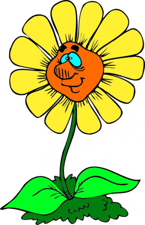 Free Stock Photo of Clipart sunflower Created by chakomajaw