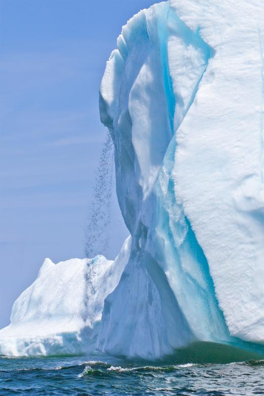 Free Stock Photo of Iceberg Waterfall Created by Geoffrey Whiteway