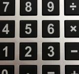 Free Photo - Close-up of buttons on a calculator
