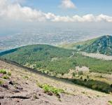 Free Photo - Naples View from Vesuvius volcano