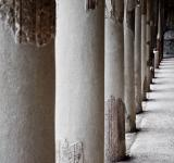 Free Photo - pilars in ancient ruin, pompeii city