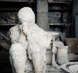 Free Photo - Plaster cast of a Pompeii chariot driver
