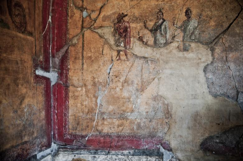 Free stock image of Pompei paintings created by Merelize