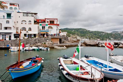 ITALY, Ischia island, S.Angelo, fisherme - Free Stock Photo
