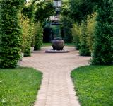 Free Photo - Beautiful garden arches and path