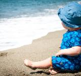 Free Photo - Baby boy on the beach