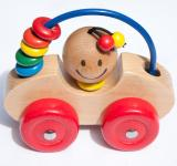 Free Photo - childrens wooden toy car