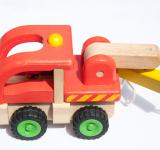 Free Photo - colorful wooden toy truck