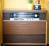 Free Photo - Vintage retro radio interior