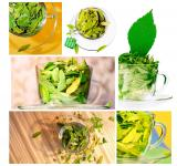 Free Photo - Green leaves in cups