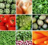 Free Photo - Fresh vegetables collage