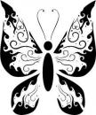 Free Photo - Butterfly tribal