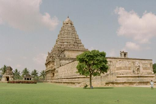 Brihadeeswarar Temple - Free Stock Photo