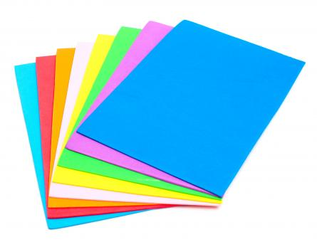 A stack of colored squares - Free Stock Photo
