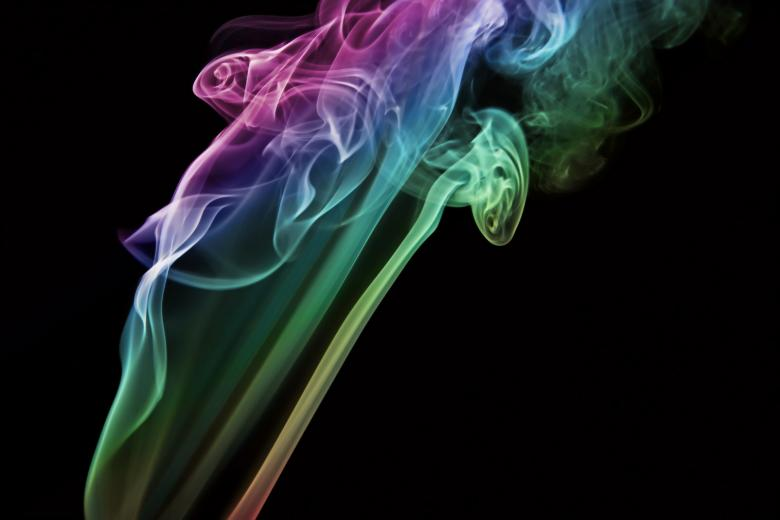 Free Stock Photo of Colored Abstract Smoke