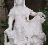 Free Photo - White female statue