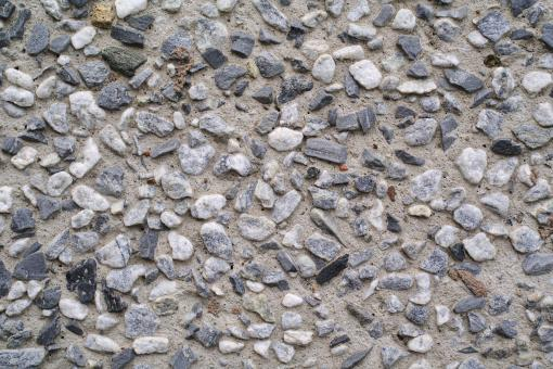 Cemented gravel wall - Free Stock Photo