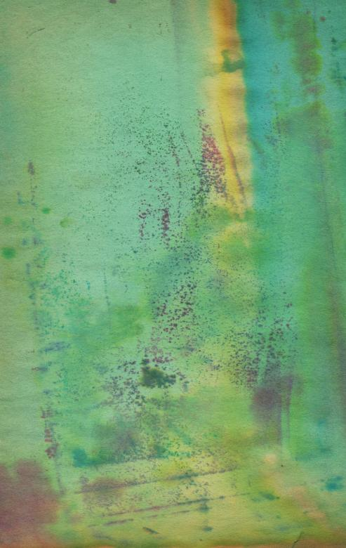 Worn Green Paper - Free Grunge Backgrounds