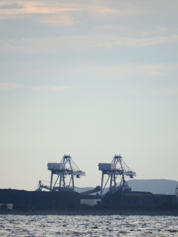 Free Stock Photo of Port Cranes Created by Ivan