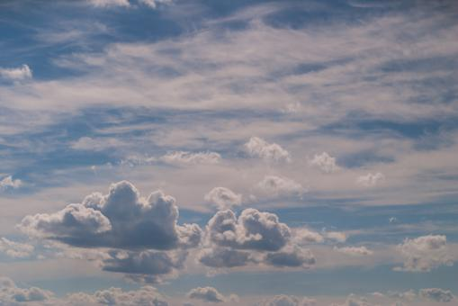 Racing clouds - Free Stock Photo