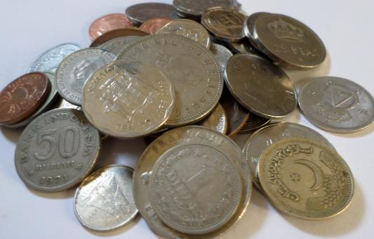 Various coins - Free Stock Photo
