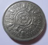 Free Photo - 1965 Two shillings coin