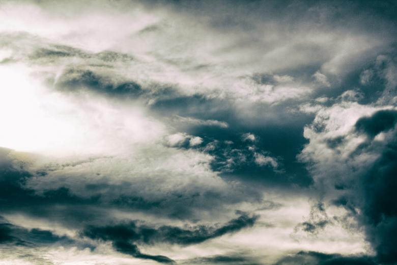 Cloudy sky Free Stock Photo