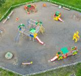 Free Photo - Empty playground from above