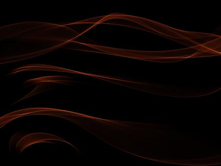 Abstract Light Flames - Orange 2 - Free Stock Photo