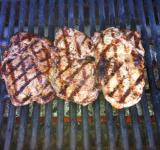 Free Photo - Pork Chops on Grill