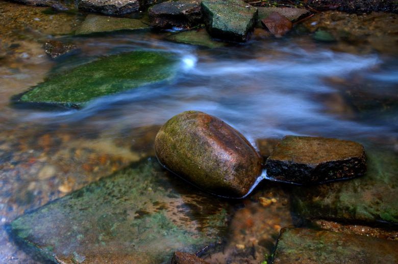 Free Stock Photo of Wet Rocks Created by Heather Elaine Kitchen