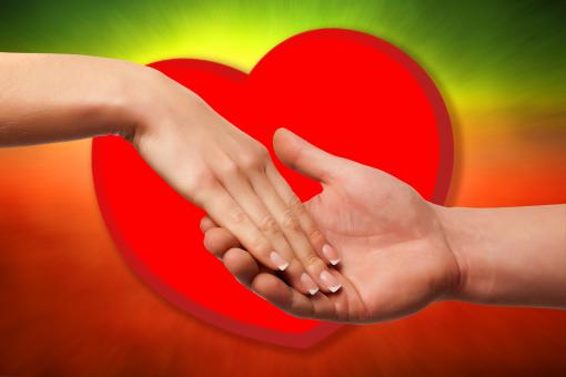 Hands over heart - Free Stock Photo
