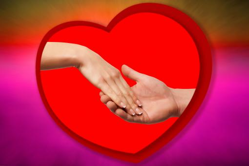 Hands in heart - Free Stock Photo