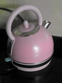Pink Kettle - Free Stock Photo