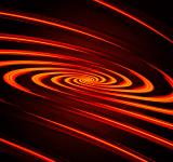 Free Photo - Abstract light spiral